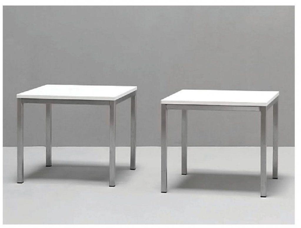 Beistelltisch 50 X 50  Icnib von Couchtisch 50X50 Weiß Bild