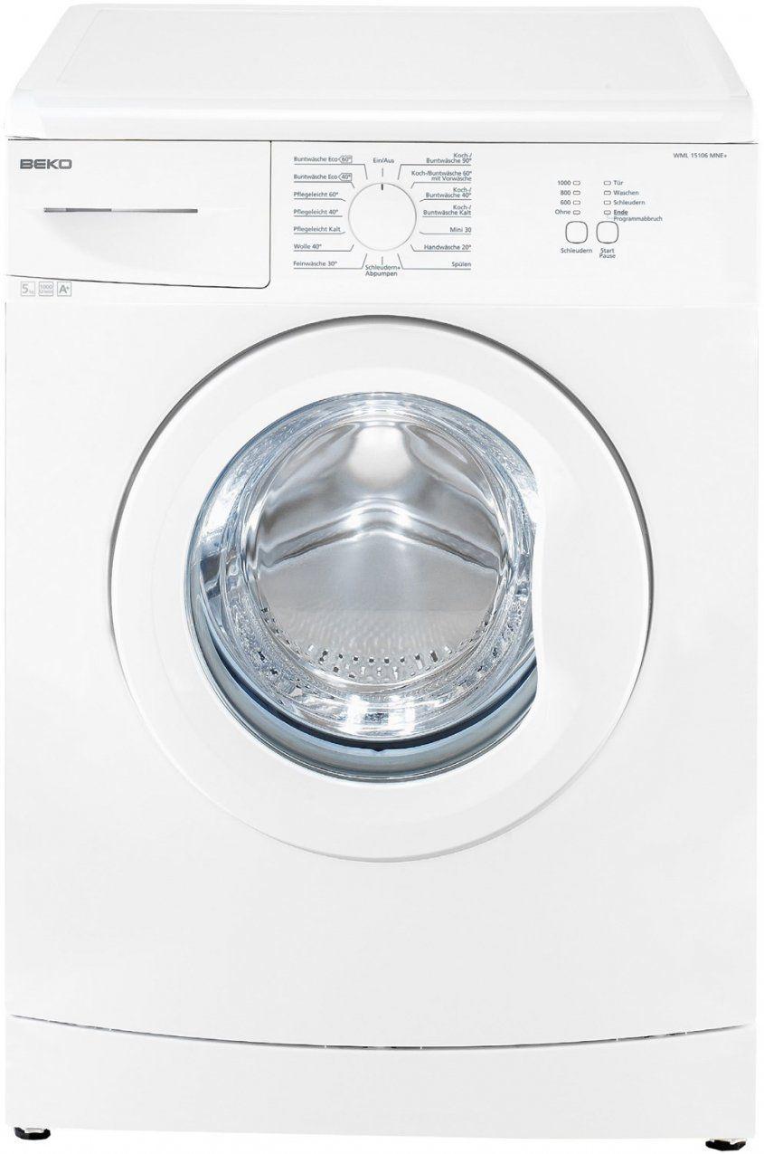 Beko Wml 15106 Ne Waschmaschine Im Test 2018 von Beko Wml 51431 E Test Photo