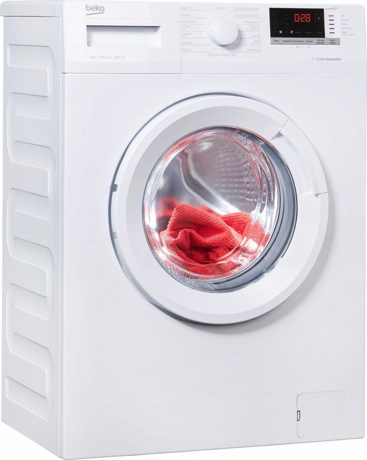 Beko Wmo622 Waschmaschine Im Test 2018 von Beko Wml 51431 E Test Photo
