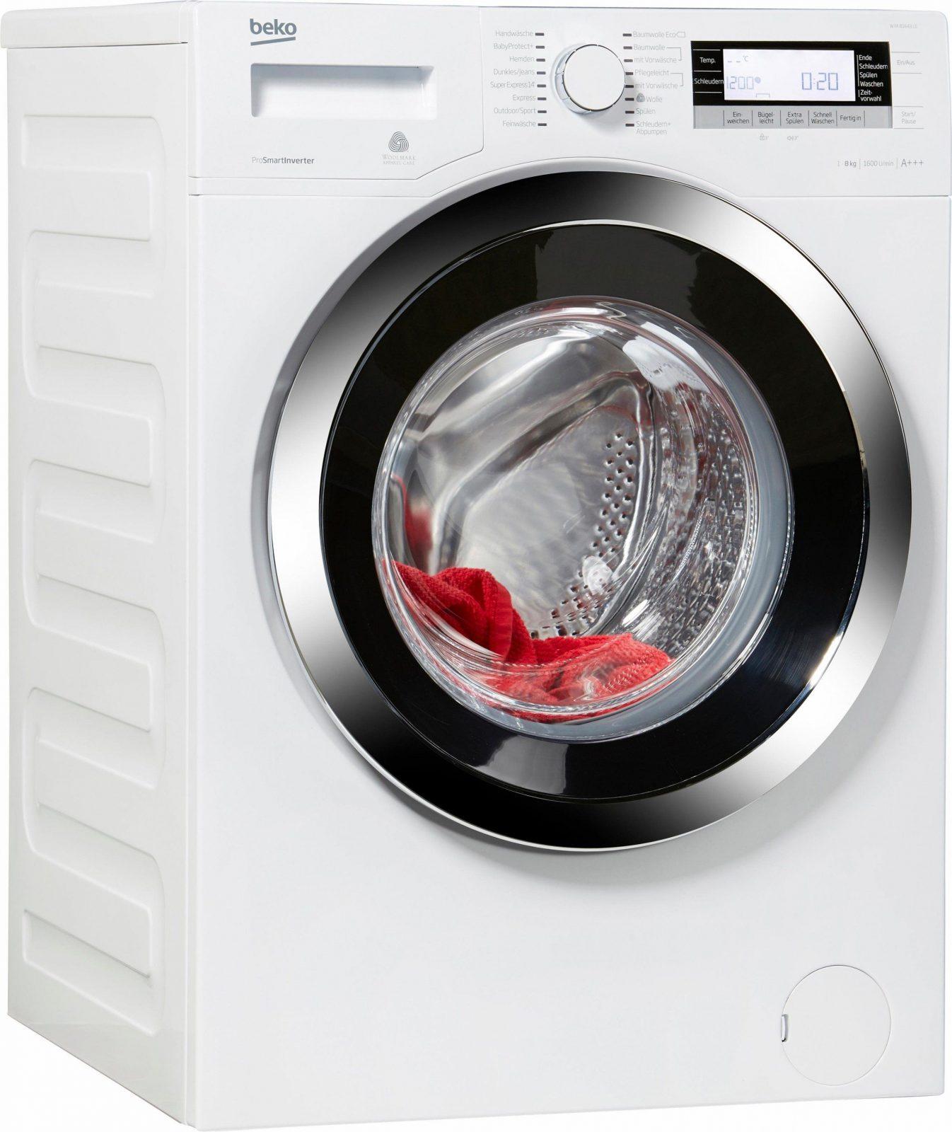 Beko Wya 81643 Le Waschmaschine Im Test 2018 von Beko Wmb 71443 Pte Stiftung Warentest Bild
