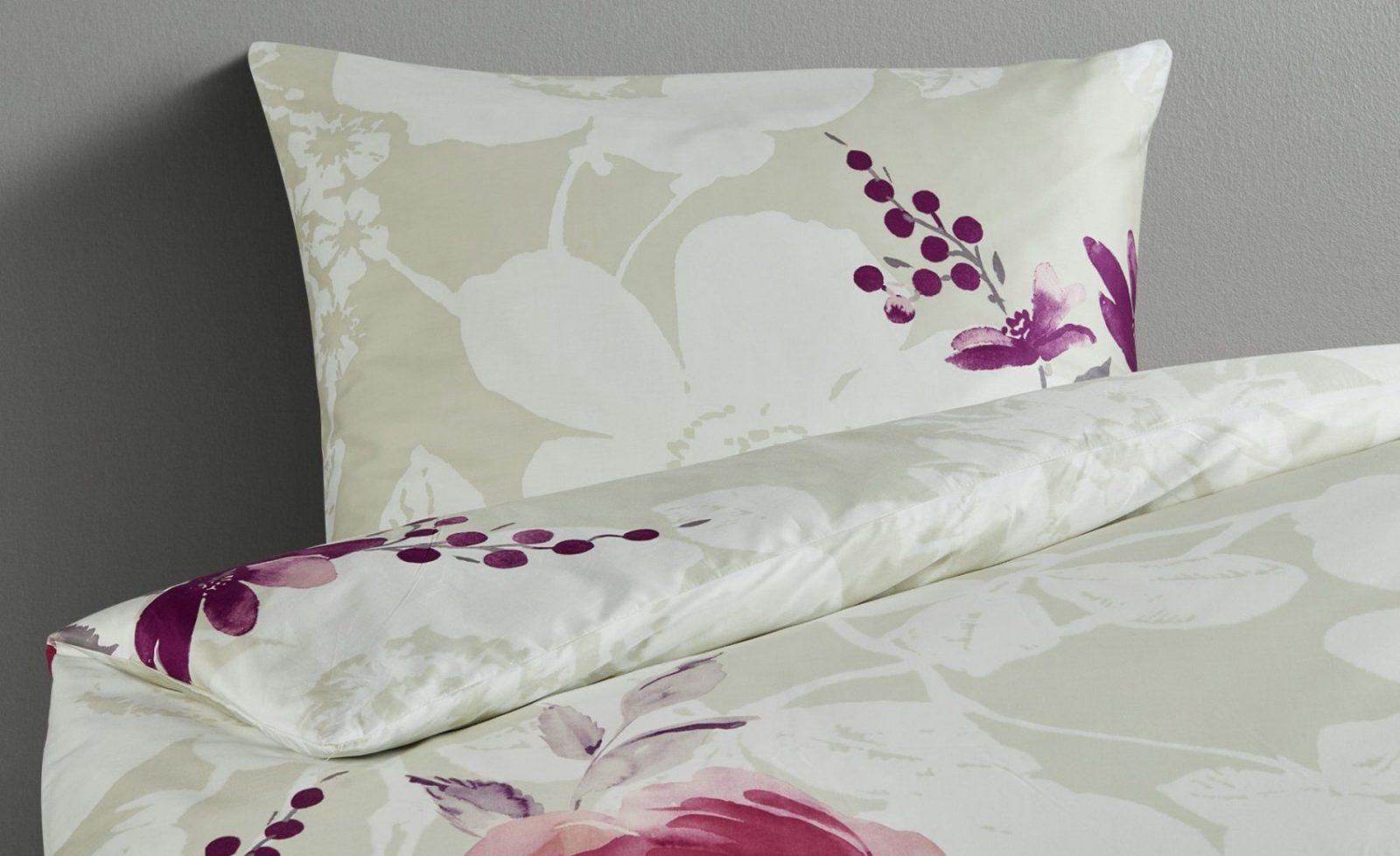 Belcampo Satinbettwäsche Ed 185 Rose  Bei Möbel Kraft Online Kaufen von Möbel Kraft Bettwäsche Bild