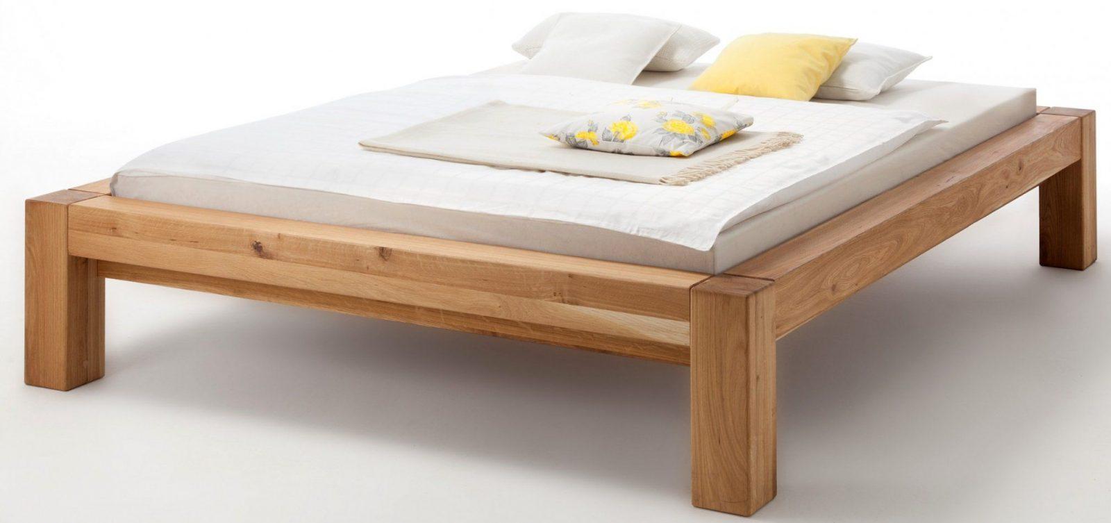 Beliebt Bettgestell 140x200 Holz Ohne Kopfteil Boxspring Bett Von
