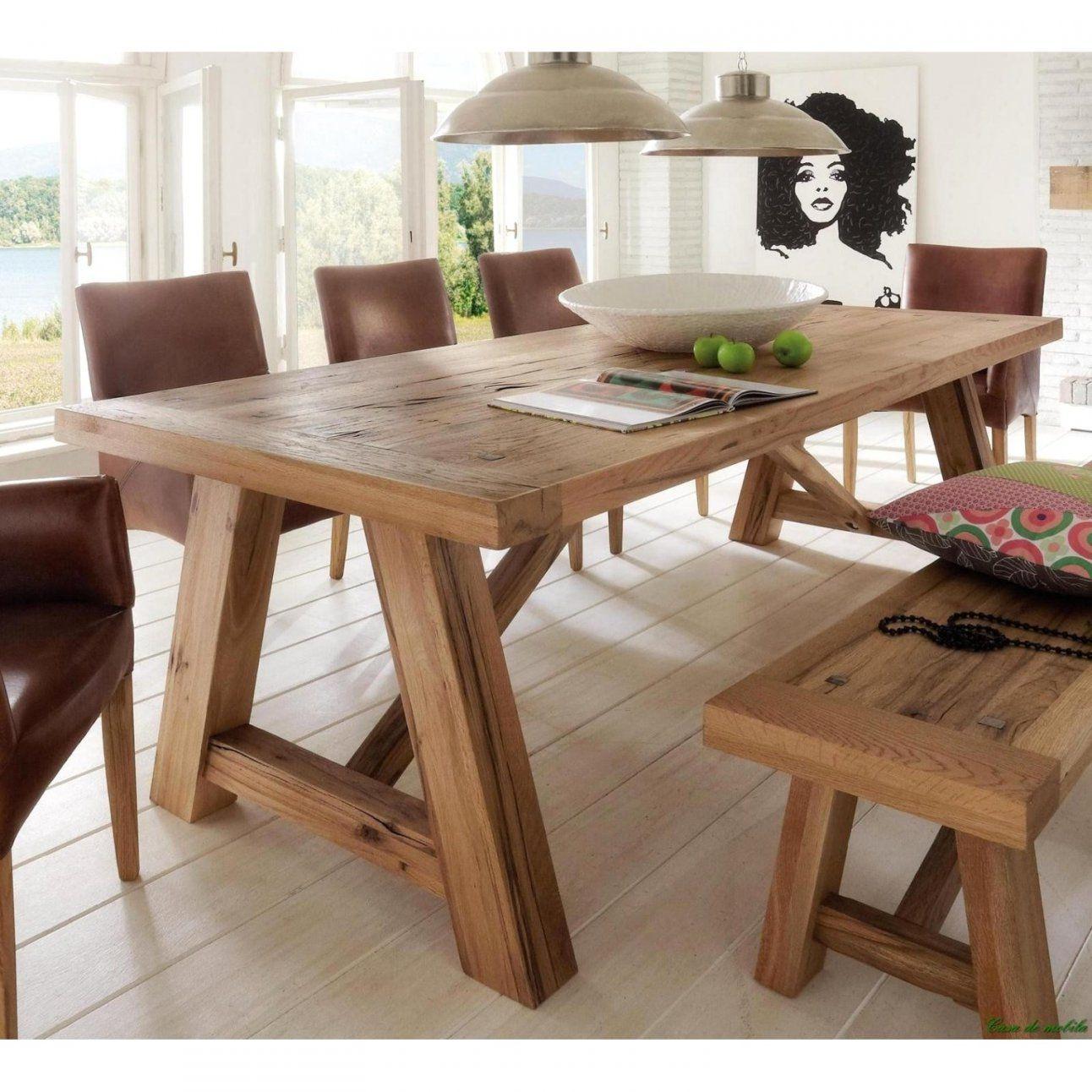 Beliebt Esstisch Aus Europaletten Mit Tisch Selber Bauen Paletten von Esstisch Aus Paletten Bauen Bild