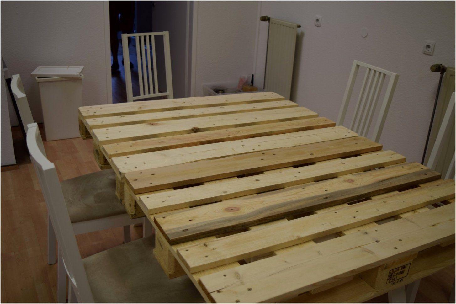 Beliebt Tisch Aus Paletten Bauen Genial Palettentisch Bauen Esstisch von Esstisch Aus Paletten Bauanleitung Bild