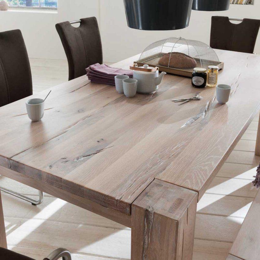 Bemerkenswert Esstisch Eiche Esstisch Eiche Gekalkt Luxus Couchtisch von Esstisch Eiche Weiß Gekalkt Bild