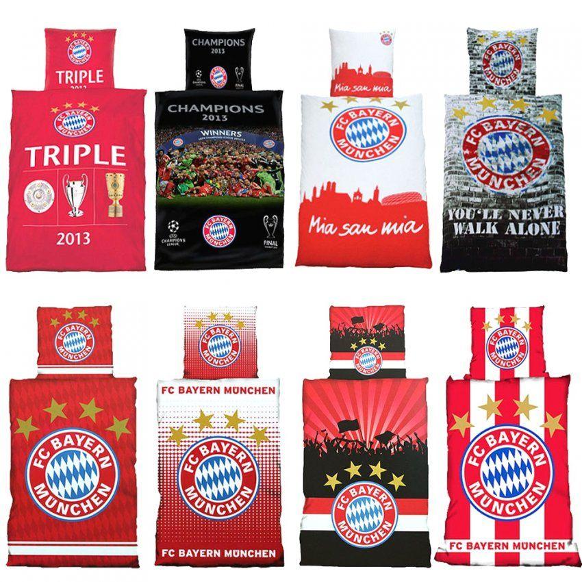 Bemerkenswerte Ideen Fcb Bettwäsche Und Blühende Fc Bayern von Fc Bayern Bettwäsche 155X220 Photo