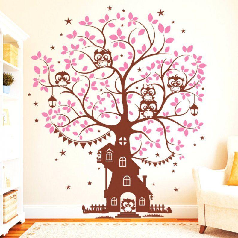 Bemerkenswerte Inspiration Wandtattoo Baum Kinderzimmer Xxl Und von Wandtattoo Baum Kinderzimmer Xxl Bild