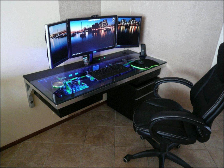 Best Custom Pc Gaming Computer Desk Ideas  Gaming Computer Desks von Gamer Schreibtisch Selber Bauen Bild