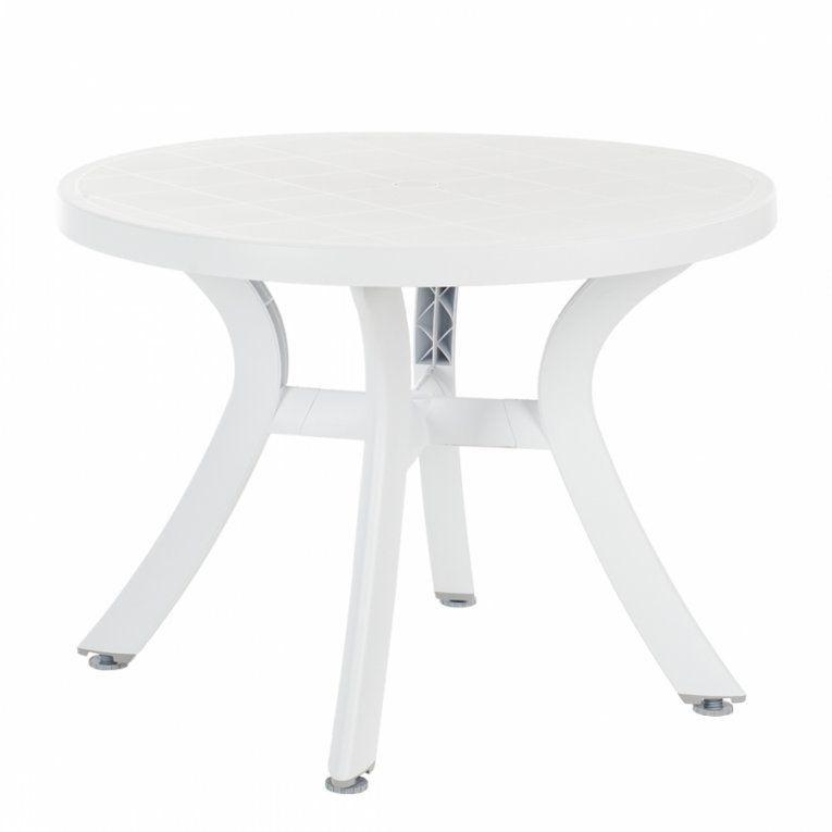 Best Freizeitmöbel Gartentisch – Für Ein Modernes Zuhause  Home24 von Gartentisch Rund Kunststoff Weiß Photo