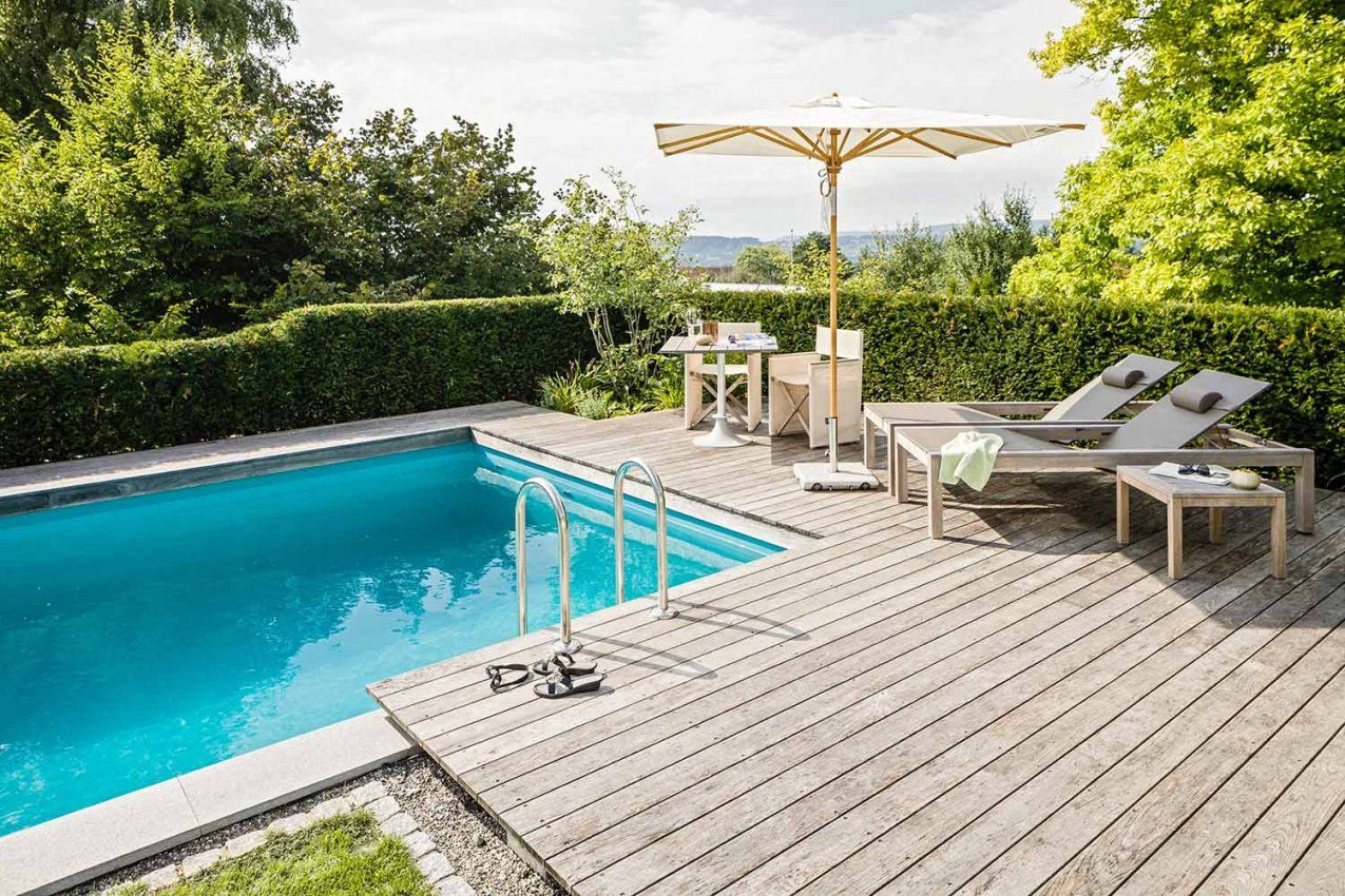 Best Garten Gestalten Mit Pool Photos  Tennisrackets  Tennis von Garten Gestalten Mit Pool Bild