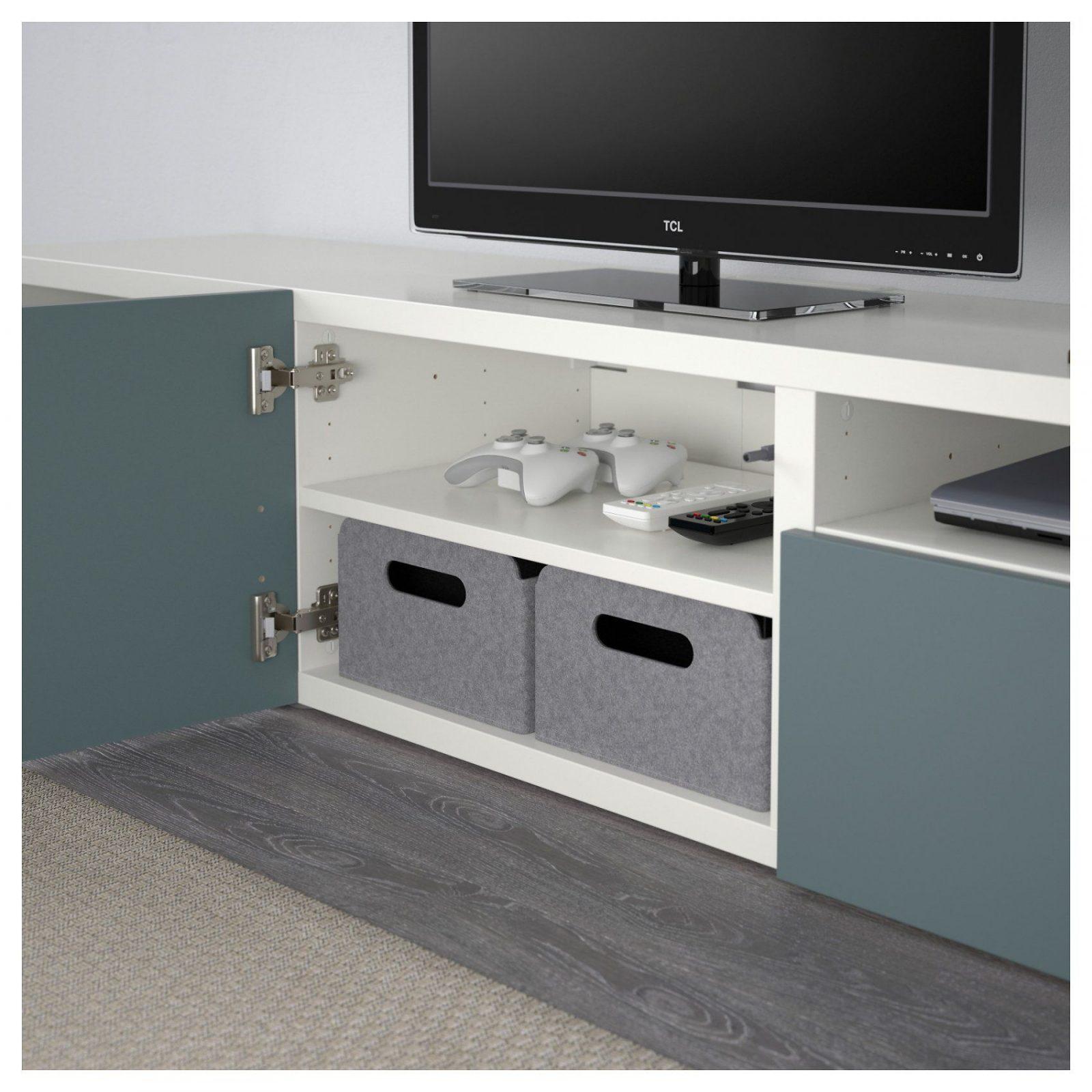 Besta Tv Bank Wandmontage – Interior Design Ideen Architektur Und von Besta Tv Bank Weiß Bild