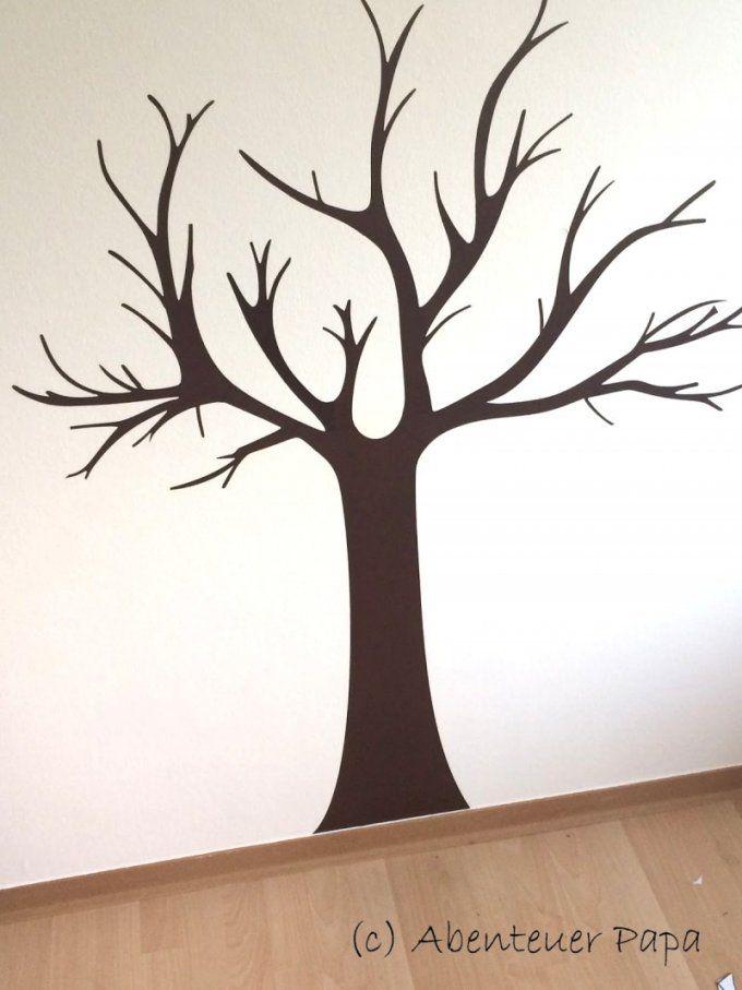 vorlage baum f r wand haus design ideen. Black Bedroom Furniture Sets. Home Design Ideas