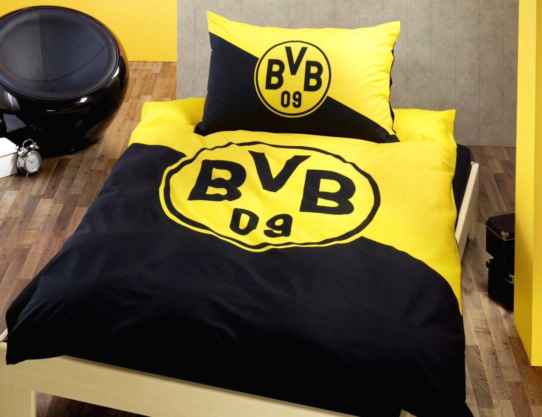 Beste Ideen Bvb Bettwäsche Günstig Und Blühende Bvb Borussia von Bvb Bettwäsche 155X220 Photo