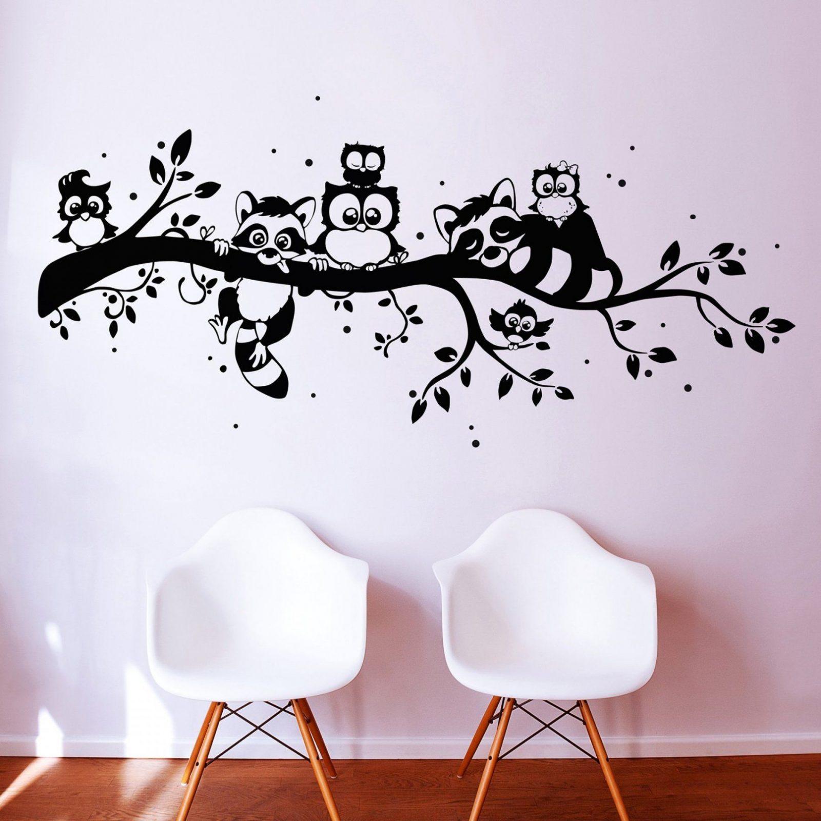 Beste Pin Von Deinewandkunst Auf Wandtattoo Eulen Für Wandtattoo von Wandtattoo Baum Mit Eulen Bild