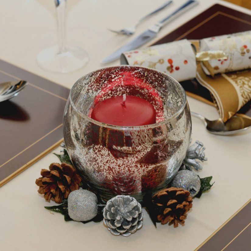 Beste Tischdeko Weihnachten Selber Machen Tischdekoration  Melinerion von Tischdeko Weihnachten Selber Basteln Photo