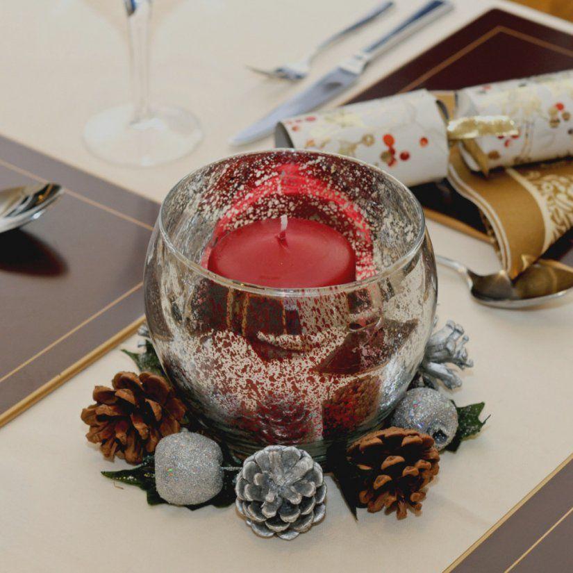 Beste Tischdeko Weihnachten Selber Machen Tischdekoration  Melinerion von Tischdekoration Weihnachten Selber Basteln Bild