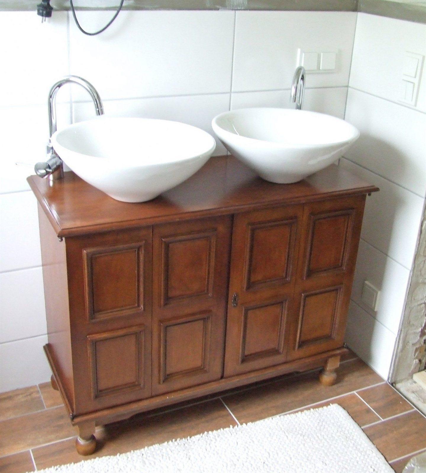 Beste Waschtisch Holz Selber Bauen Stunning Waschtisch Aus Holz von Waschbecken Platte Selber Bauen Bild