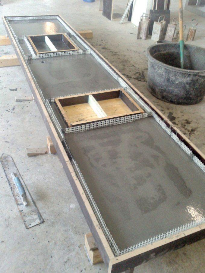 Betonarbeitsplatte Selber Machen Attraktiv Awesome Küche Aus Beton von Arbeitsplatte Aus Beton Selber Machen Bild