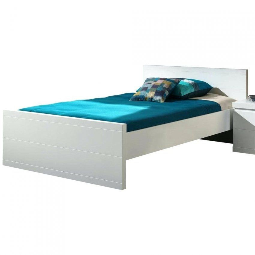 Bett 120×200 Massivholz Einzelbett 120×200 Holzbett Bett Kiefer von Bett Weiß 120X200 Ikea Bild