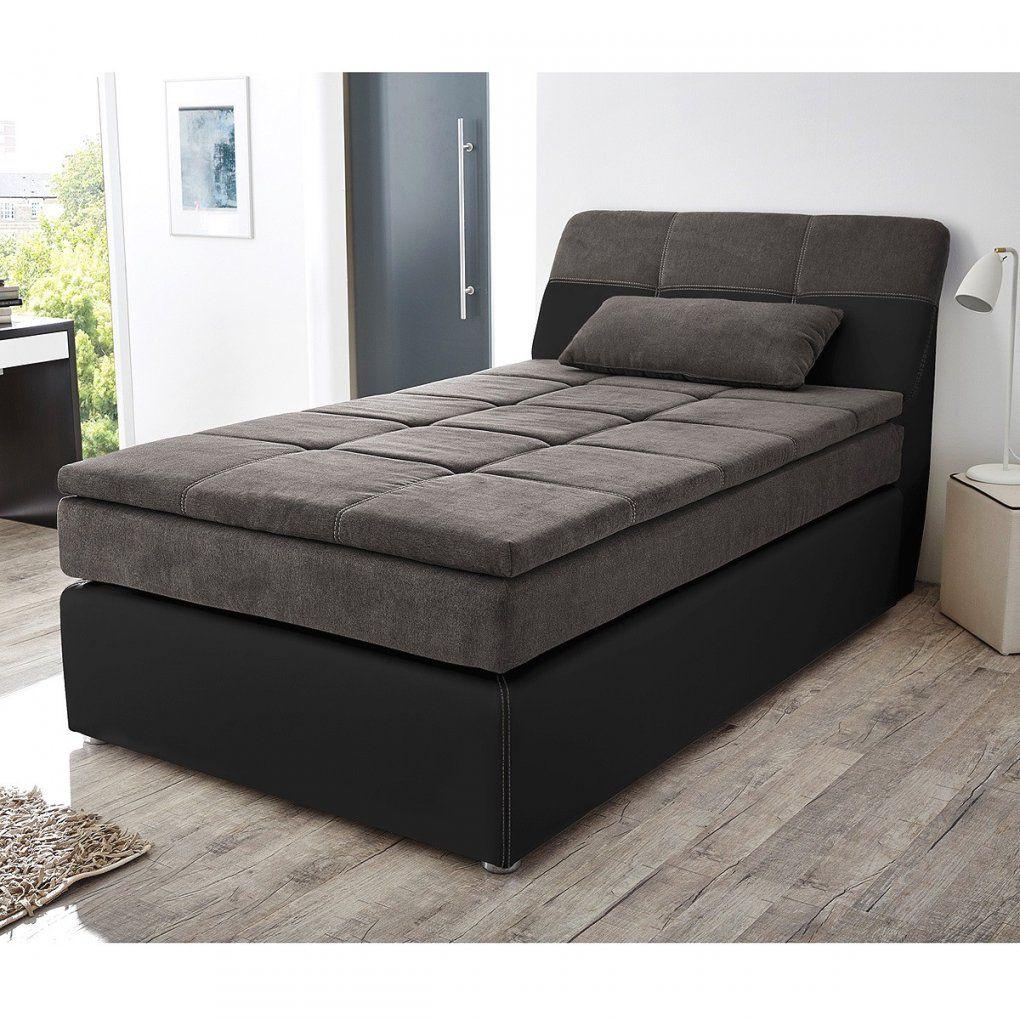 Bett 120X200 Otto Mit Gebraucht Bettkasten Betten Schwarzbraun Weis von Betten 120X200 Mit Bettkasten Bild