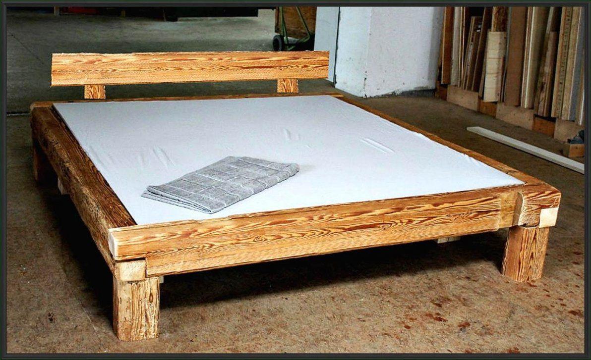 Bett 140X200 Weis Holz Mit Lattenrost Und Matratze Gunstig Moderne von Bettgestell Selber Bauen 140X200 Bild