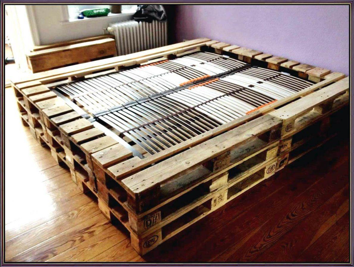 Bett Aus Paletten Bauen 140x200 Haus Design Ideen