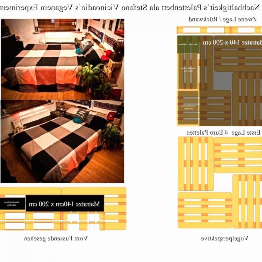 Bett Aus Paletten Bauen 140×200 Best Bett Selber Bauen Kosten von Bett Aus Paletten Bauen 140X200 Photo