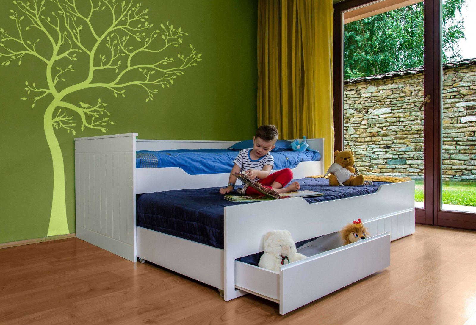 Bett Ausziehbar Zum Doppelbett
