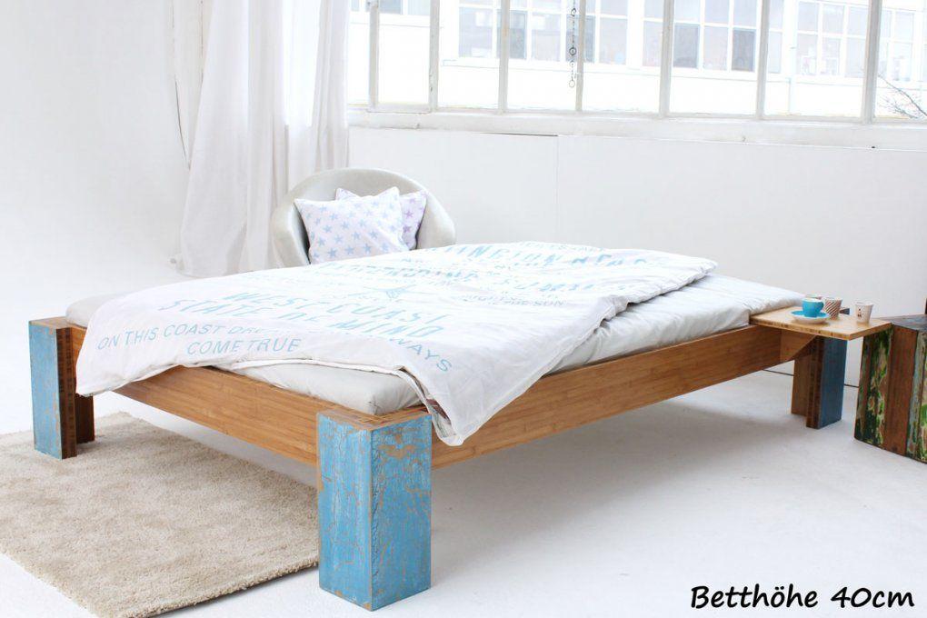 Bett In 160 X 220 Cm  Schadstofffrei Lackierte Bambusbetten von Bett 160 X 220 Photo