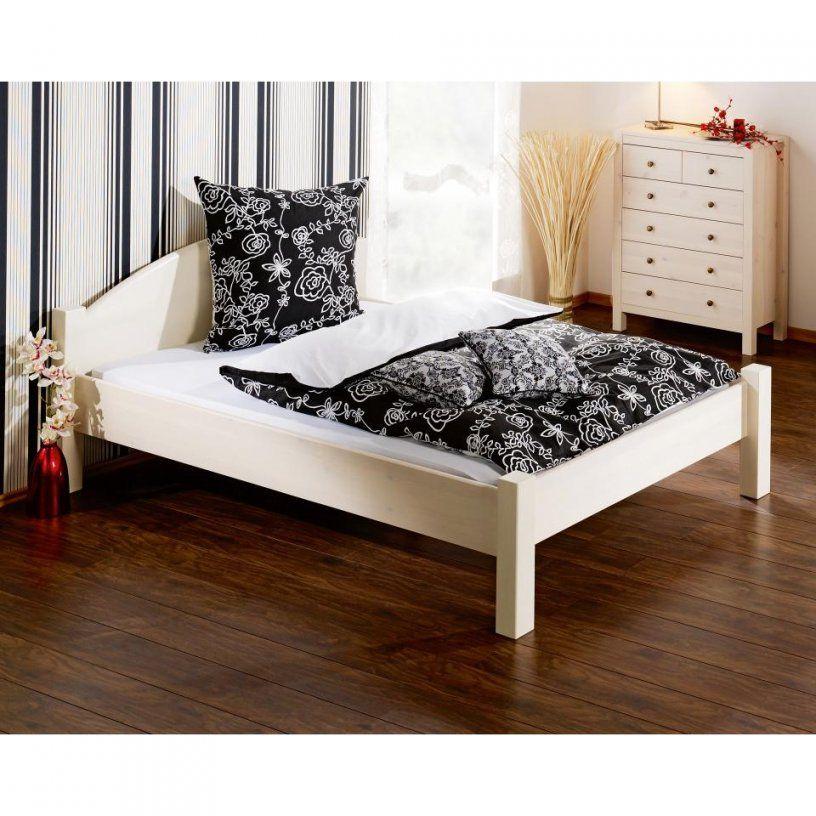 Bett Jakob (200X200 Cm Weiß)  Dänisches Bettenlager von Bett 140X200 Dänisches Bettenlager Bild