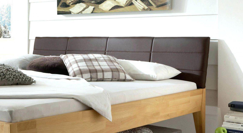 Bett Kopfteil Gepolstert Lehnen Selber Machen 200 140 Cm Holz Weiss von Bett Kopfteil Gepolstert Selber Machen Bild