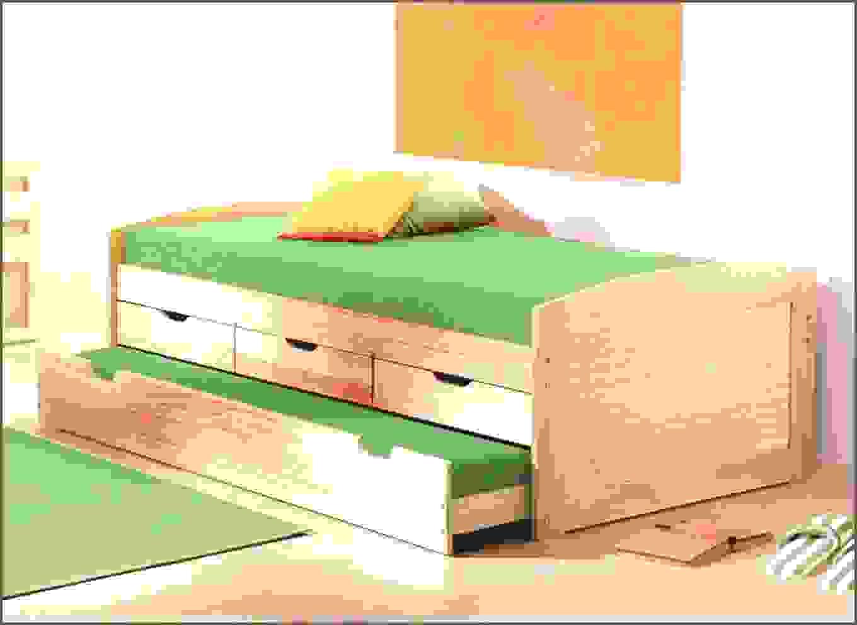 Bett Mit Unterbett Von Bett Mit Unterbett Zum Ausziehen Konzept von Bett Mit Unterbett Zum Ausziehen Bild