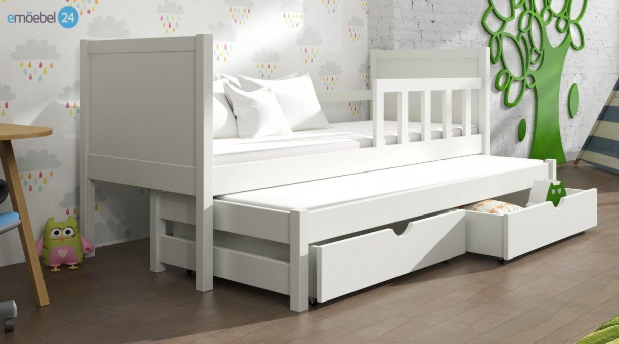kinderbett weiss mit schublade haus design ideen. Black Bedroom Furniture Sets. Home Design Ideas