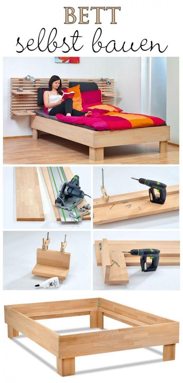 Bett Selber Bauen  Bett Kaufen Lattenrost Und Selbst Bauen von Bettgestell Selber Bauen 140X200 Bild