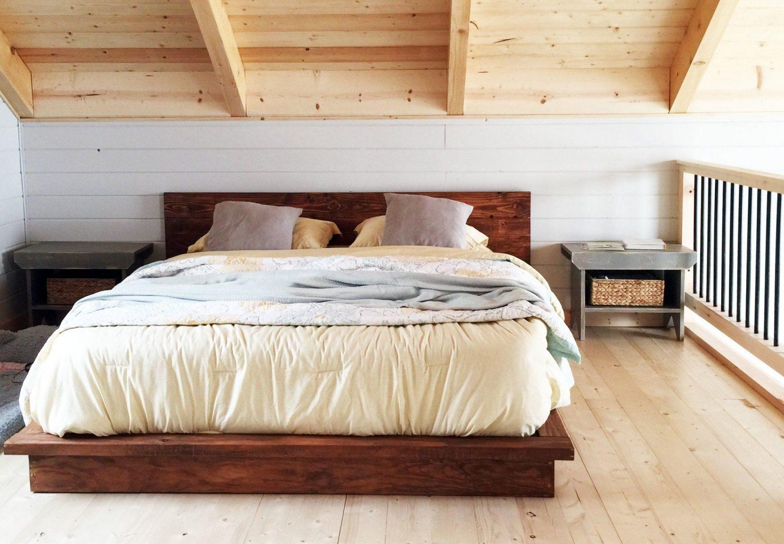Bett Selber Bauen Ist Leichte Aufgabe 2 Diy Bauanleitungen  Diy von Bett Selber Bauen Holz Photo