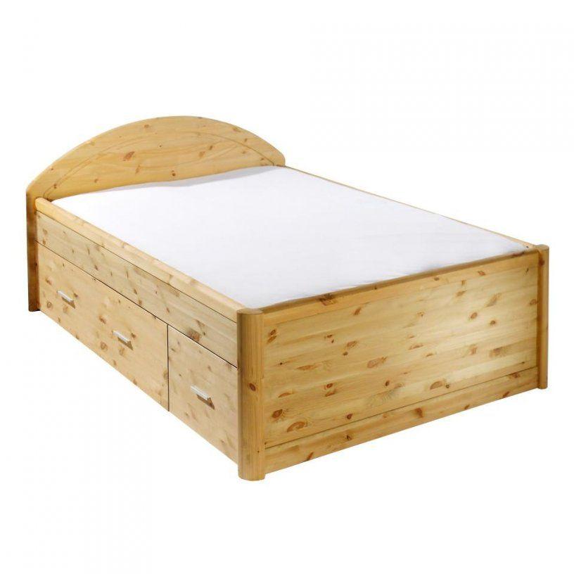 Bett Tina (140X200 Kiefer Natur Lackiert)  Dänisches Bettenlager von Bett 140X200 Dänisches Bettenlager Bild