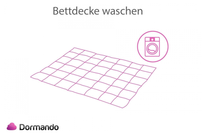 Bettdecke Waschen  Worauf Muss Man Achten ᐅ Dormando von Gardinen Waschen Waschprogramm Photo