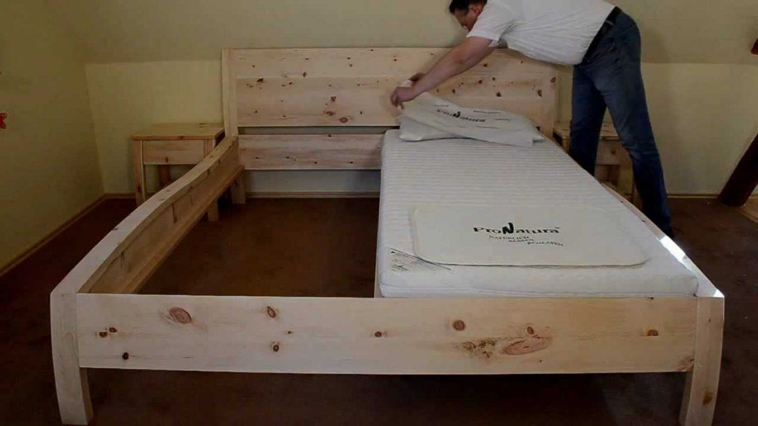 Bettkopcteil Mit Stoff Selber Machen von Bett Kopfteil Holz Selber Bauen Bild