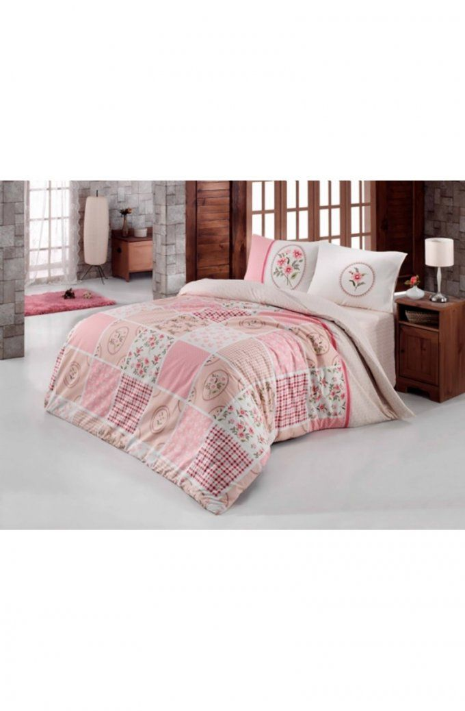 Bettwaren  Mellice Home von Bettwäsche 200X220 Rosa Bild