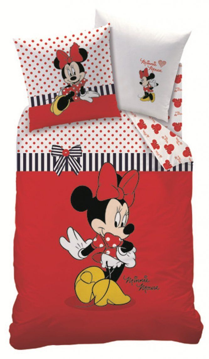 Bettwäsche 100135 Minnie Mouse My Blog Von Minnie Mouse Bettwäsche