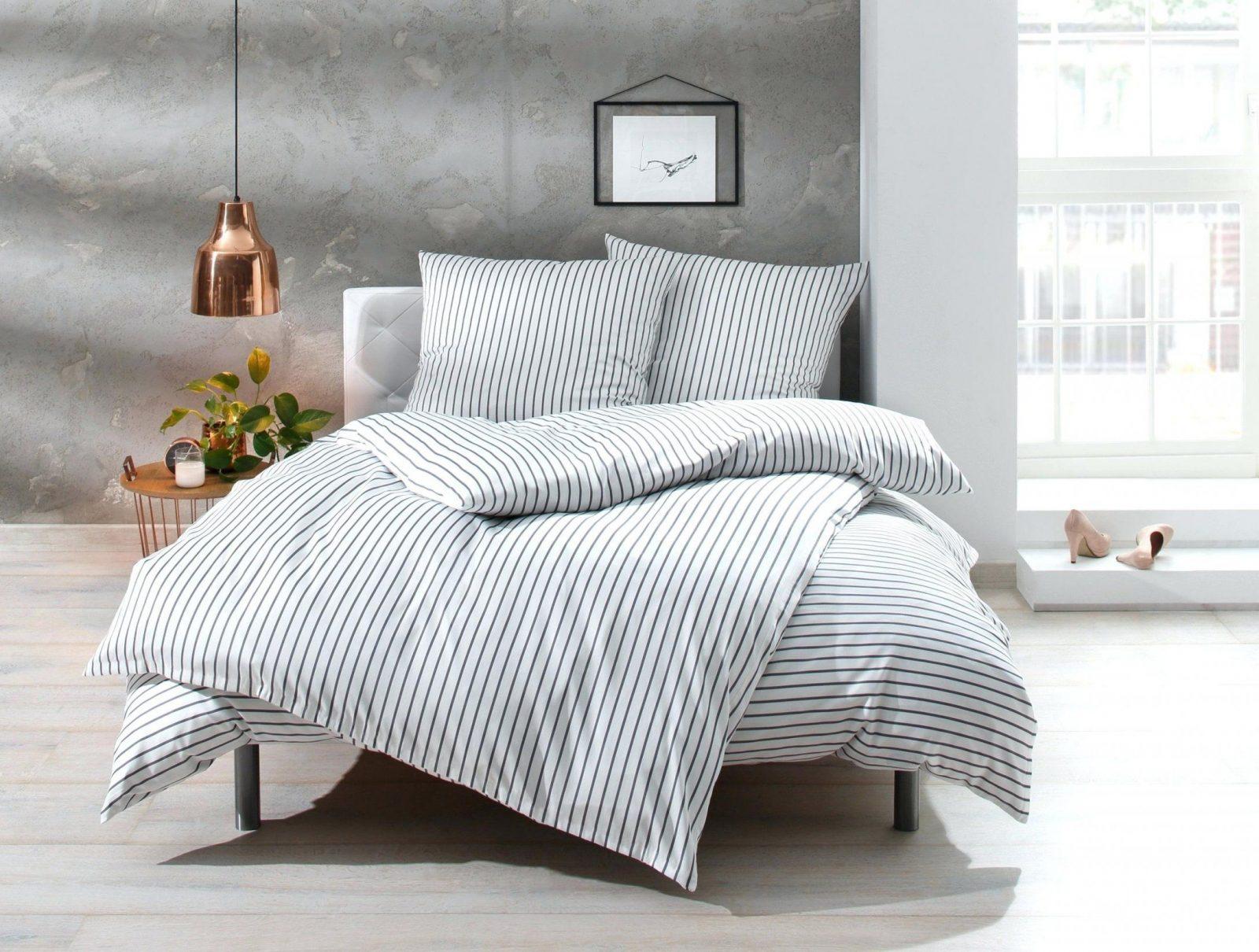 Bettwasche 240×220 Bettwaesche Mit Stil Mako Satin Streifen Den Haag von Otto Bettwäsche Biber Photo