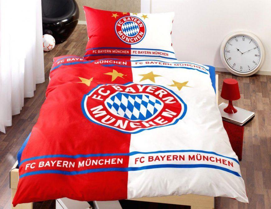 Bettwäsche Bayern München Günstig  Bsgmedia von Fc Bayern Bettwäsche 155X220 Photo