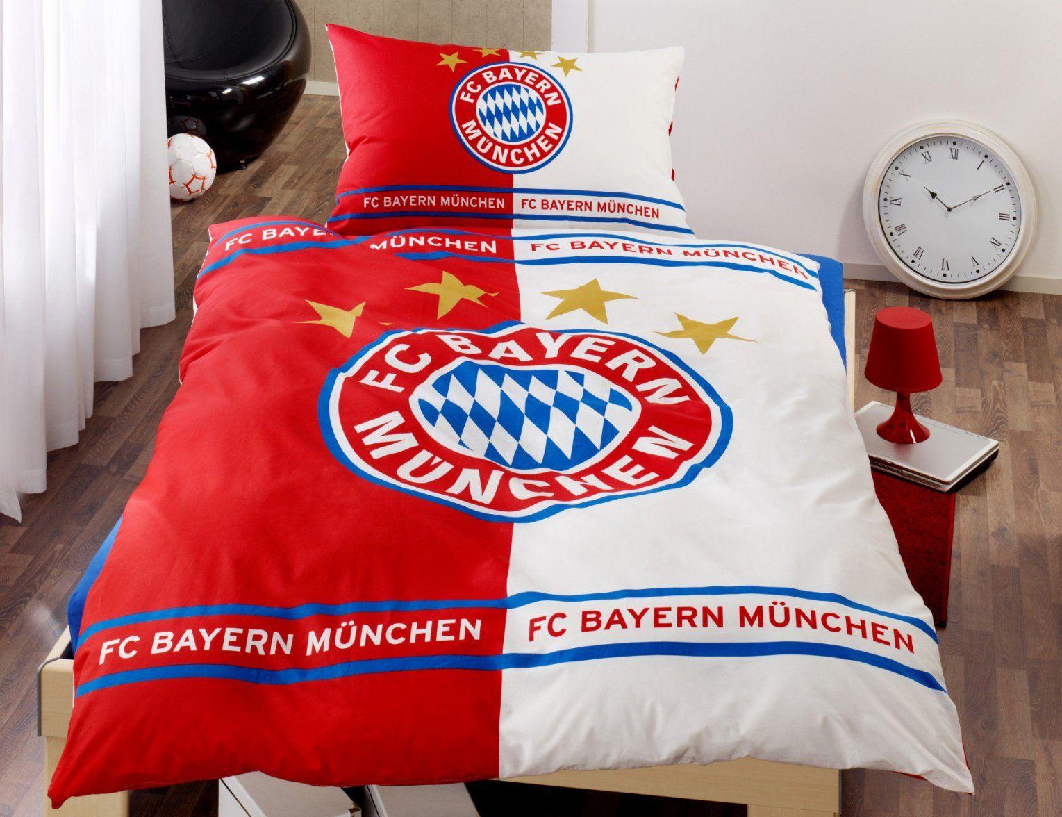 Bettwäsche Bayern München Real  Conferentieproeftuinen von Bayern München Bettwäsche Real Bild