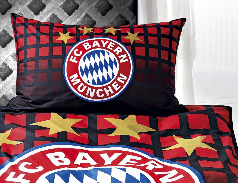 Bettwäsche Bayern München Schwarz Günstig ⋆ Lehner Versand von Bayern Bettwäsche Günstig Bild