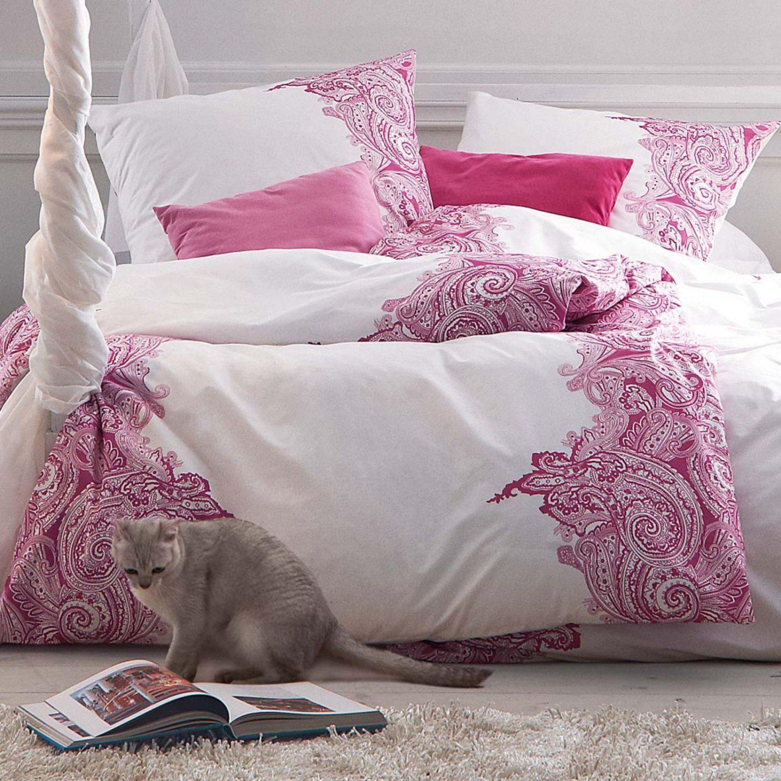 Bettwäsche  Bed Linen Impressionen Schlafzimmer  Home von Bettwäsche Bei Hse24 Bild