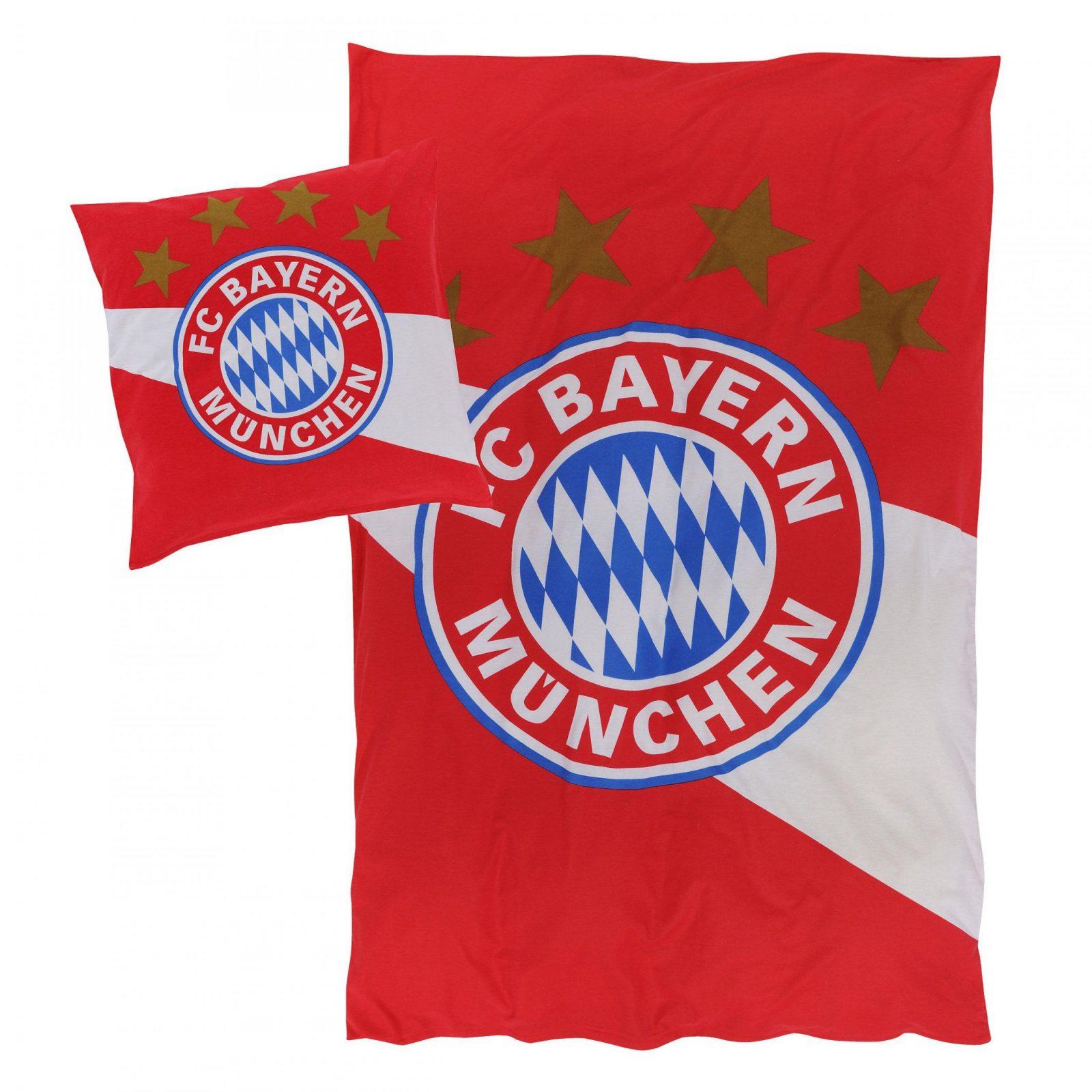 Bettwäsche Biber  Offizieller Fc Bayern Fanshop von Fc Bayern Bettwäsche Biber Photo