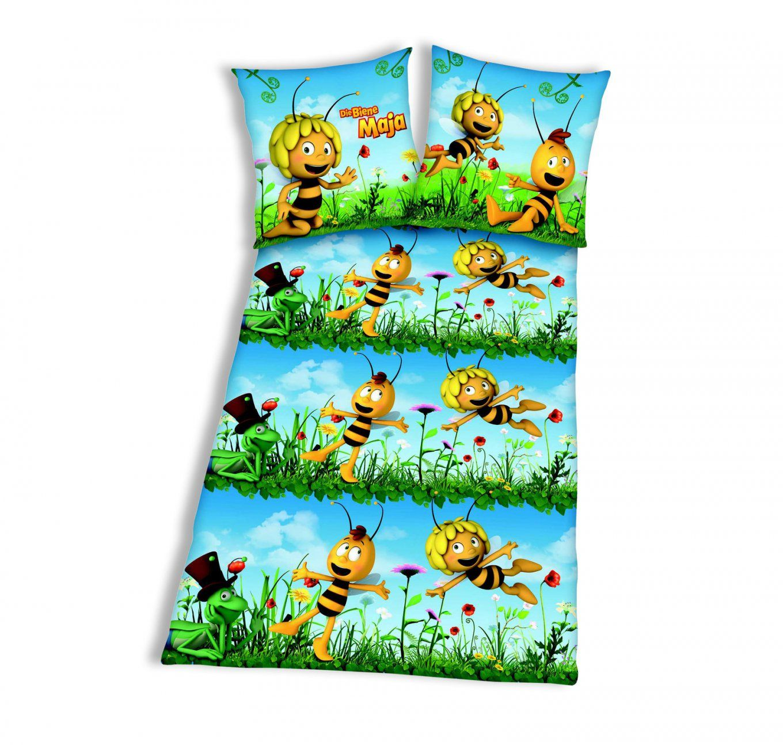 Bettwäsche Biene Maja  Reißverschluss  135X200 Cm von Biene Maja Bettwäsche Bild