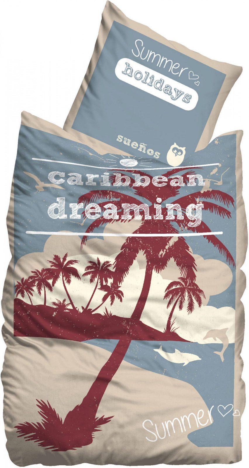 Bettwäsche Caribbean Suenos Kaufen  Baur von Bettwäsche Palmen Motiv Photo
