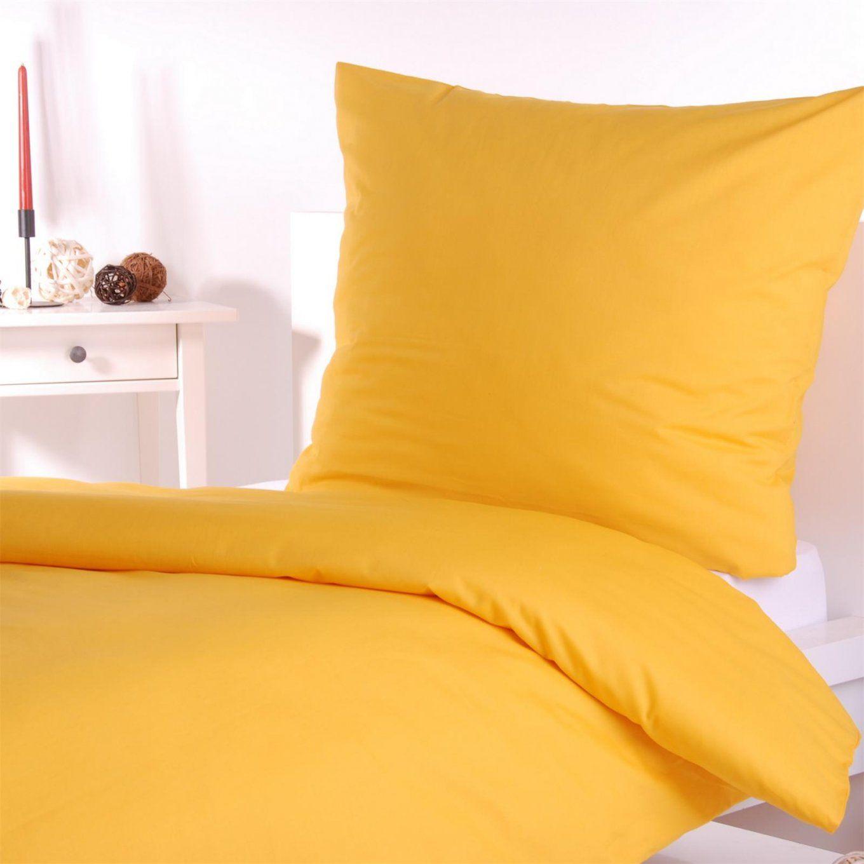 Bettwäsche Einfarbig Gelb  Conferentieproeftuinen von Biber Bettwäsche Gelb Photo