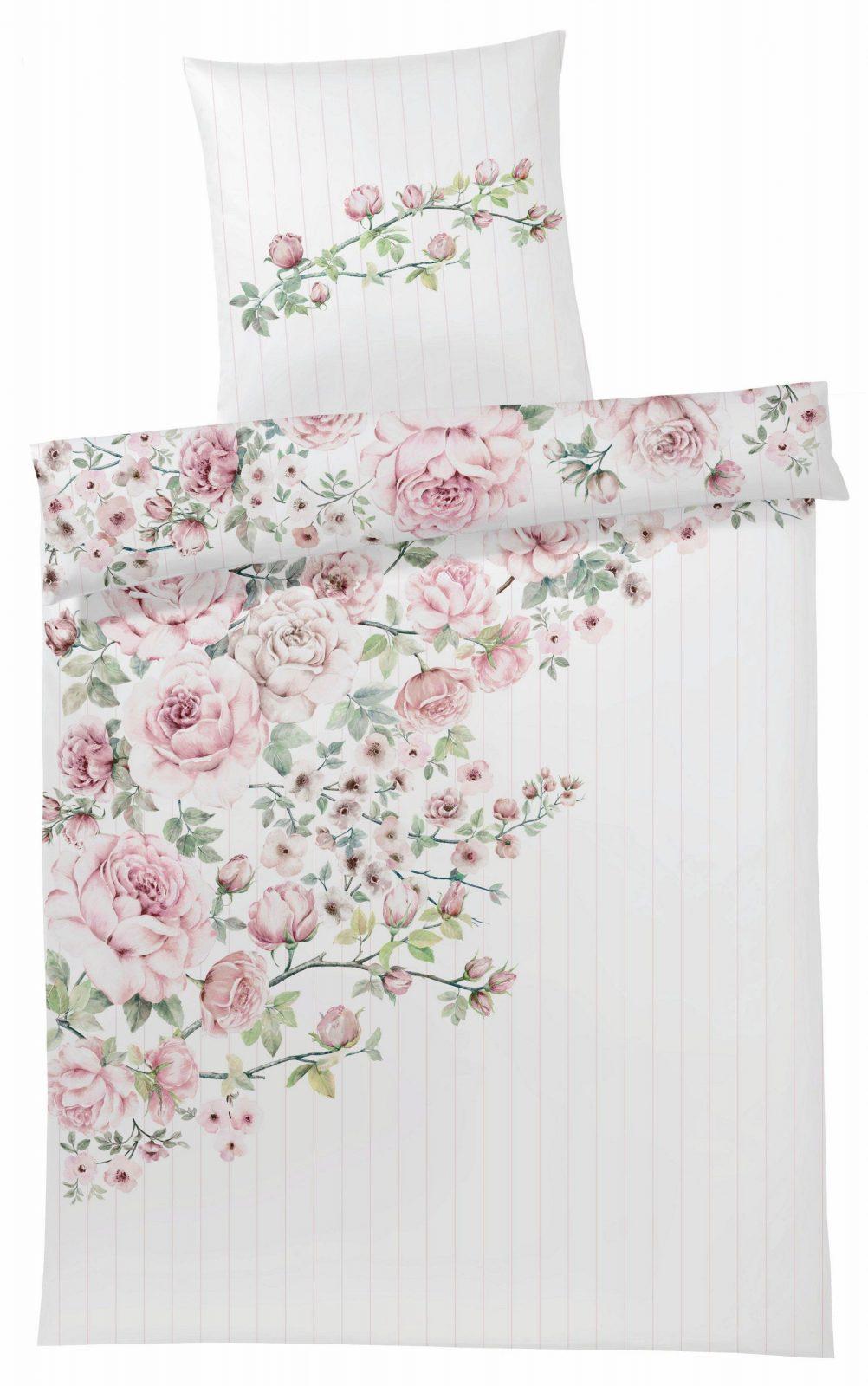 Bettwäsche Elegante Princess Rose Mit Rosen Auf Raten  Baur von Baur Bettwäsche 155X220 Bild